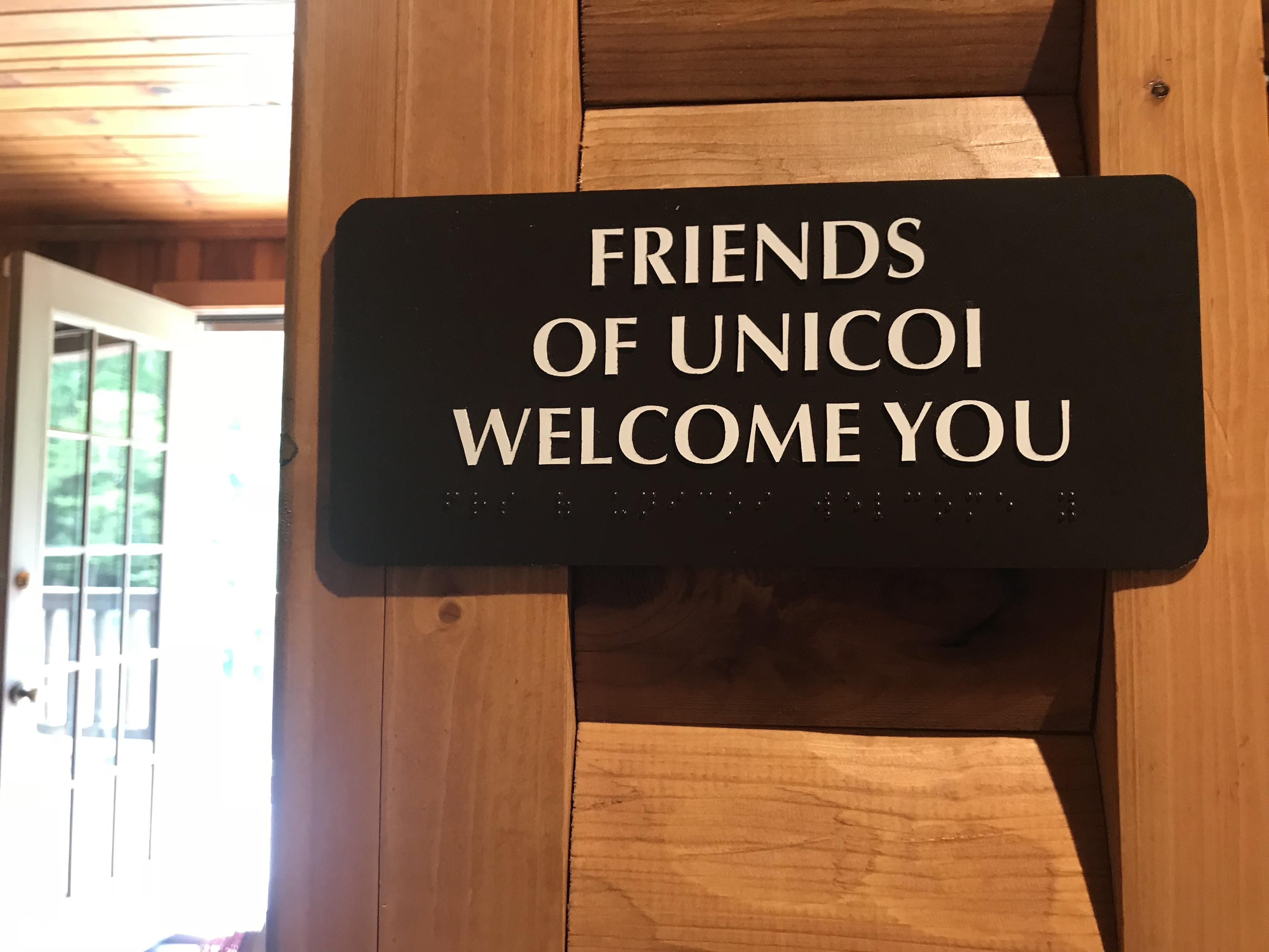 Friends of Unicoi Welcomes You